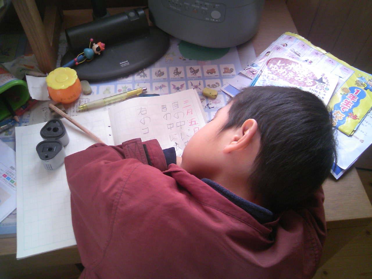 勉強中...